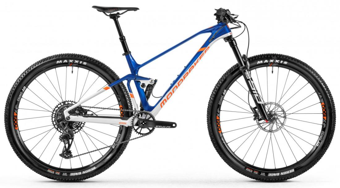 F-Podium DC Carbon, blue/white/orange, 2021
